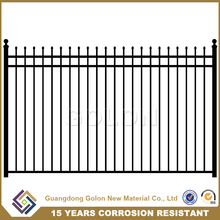 Cheap Wholesale Galvanzied iron fence for garden