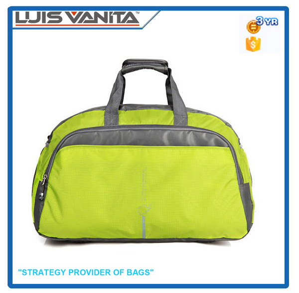 Hot Sale Green Polyester Travel Cosmet Bag