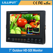 1080P 7 Inch Lcd Monitor With HDMI input and SDI Signal Conversion Function