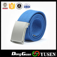 Fashion Women Men Strong Buckle Unisex High Quality Canvas Casual Fabric Belt