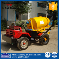 concrete mixing machines SD800 truck mixer/mobile concrete mixer with pump