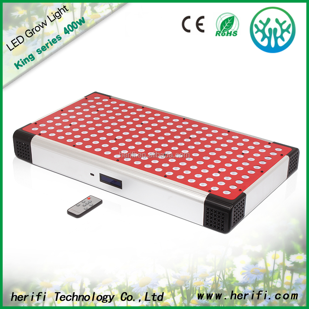 4 Channel Programmable Hydroponic LED Lighting 400w LED Grow Light to Control different light