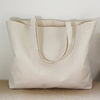 Fashion wholesale extra large canvas tote bag