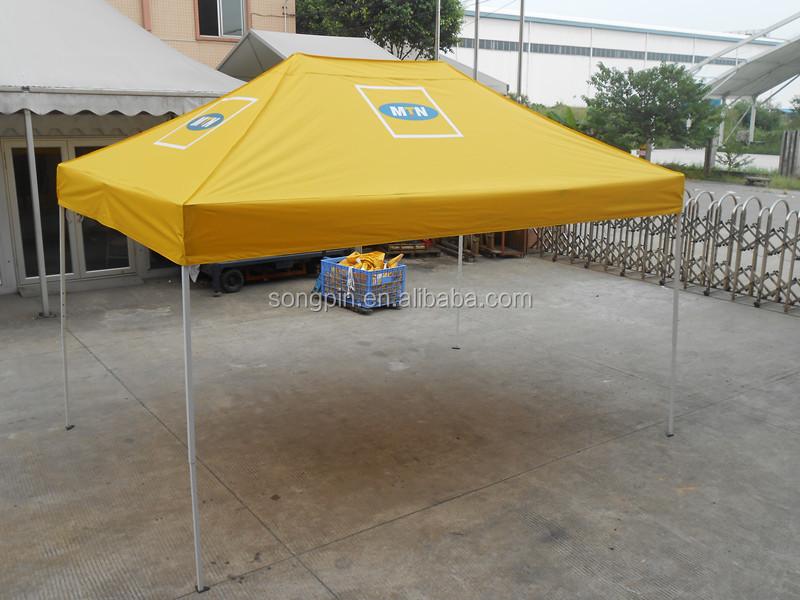 uv schutz wasserdicht gelb falt pavillon zelt zum. Black Bedroom Furniture Sets. Home Design Ideas