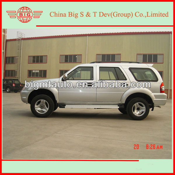assemble Chinese 6490 model 4x4 diesel SUV vehicle with suv alloy wheels specially in Africa