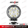"2015 New Design 4"" 27w Led Work Lights, car led tuning light"