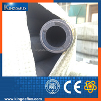 Wear Resistant 3 Inch Fabric Braided Rubber Sand Grit Blast Hose 12bar