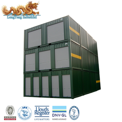 20' / 40' / 40' HQ / 45'HQ length (feet) steel military storage containers