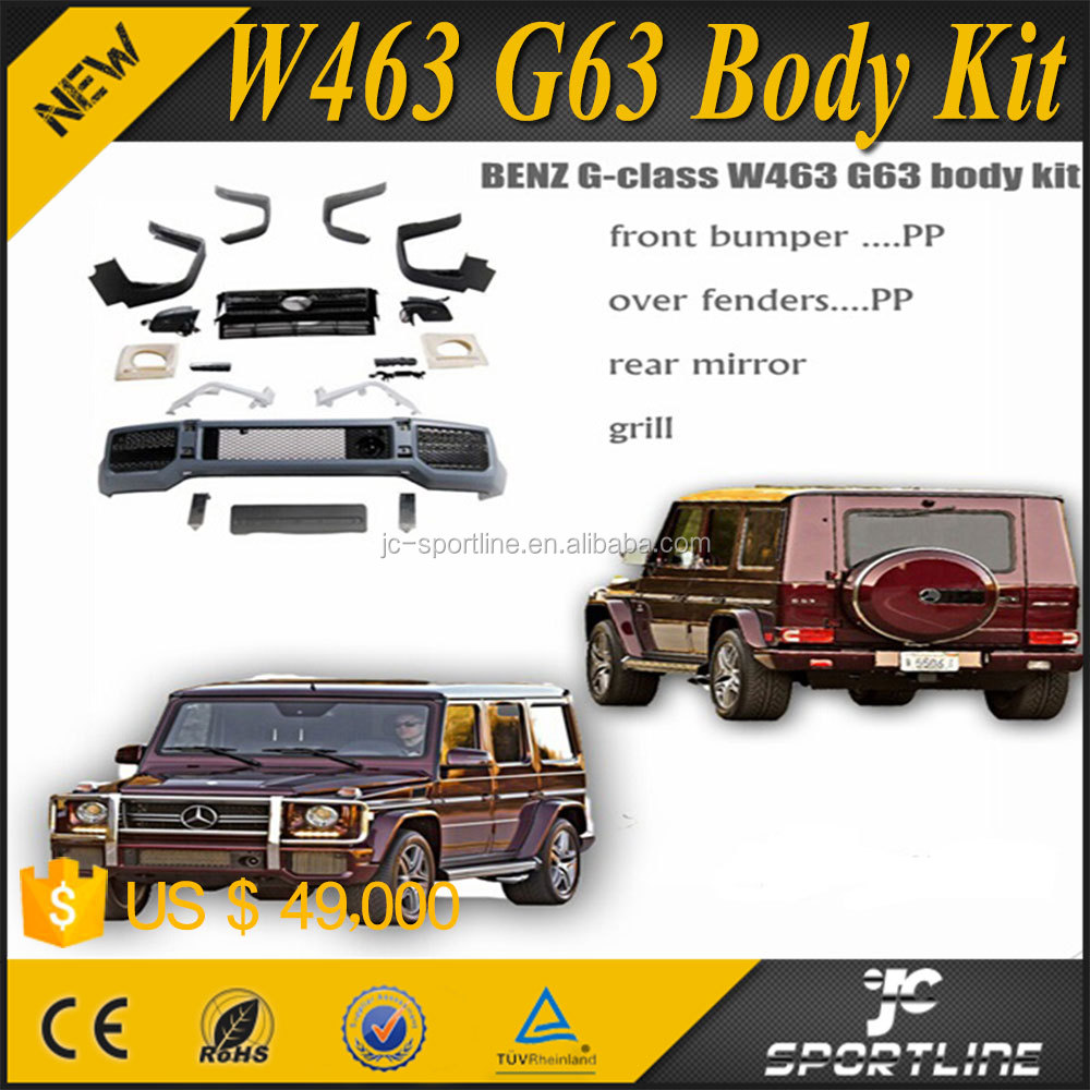 PP Body Kits for Mercedes W463 G Wagon G-class G63 2008UP