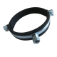 O Type EPDM Rubber Insulated Hanging Single Pipe Clamp