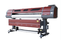 Eco Solvent Plotter Sticker Printer 180cm Screen Flex Printing Machine SS-1971-R 1440dpi Price