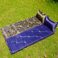 Folding Auto Air inflatable Sleeping Pad Camping Bed mattress