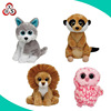 Wholesale wild jumping animal toy stuffed soft plush toy animal