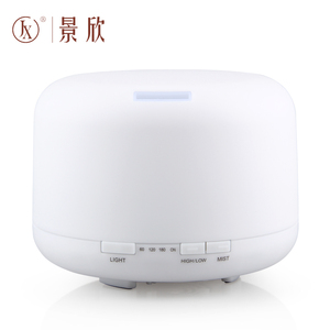 500ml Capacity Aromatherapy Essential Oil Diffuser Portable Ultrasonic Cool Mist Aroma Diffuser With 8H Long Working Time