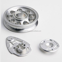 small quantity CNC aluminum alloy rapid prototyping
