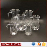 5size plastic cup manufacturer water glass plastic beer pitchers wholesale