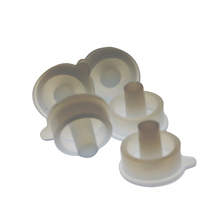 Custom made food grade silicone rubber parts for household medical and kitchen used