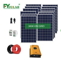 3000watt for power supply Photovoltaik product on grid solar panel system
