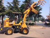 Good Sale High Quality Shanfeng Brand ZL920 Mechanical Timber Grab wood Loader