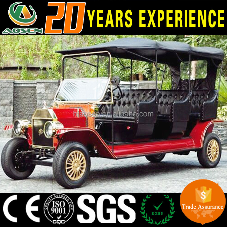 8 seater classic royal model T electric car