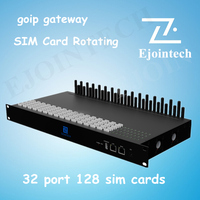 goip 32 / 128 port gsm gateway,voip 32 ports gsm gateway ,SIM Card Rotation auto,find trap number through data mining