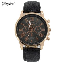 New fashion logo custom watch manufacturer watches for men, leather cheap in bulk watch