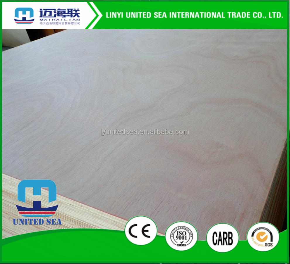 3-Ply Boards Plywood Type wood veneer sheet