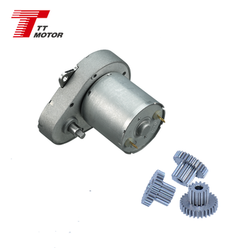low speed 12v dc gear motor or 48mm dc motor