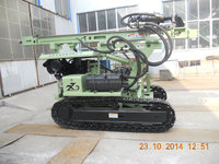 hydraulic pile driver/auger drilling rig
