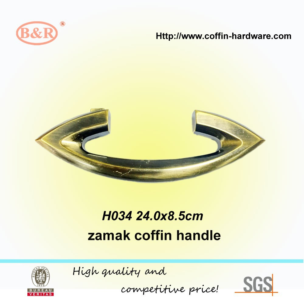 Funeral product for metal coffin handle(casket handle) H034