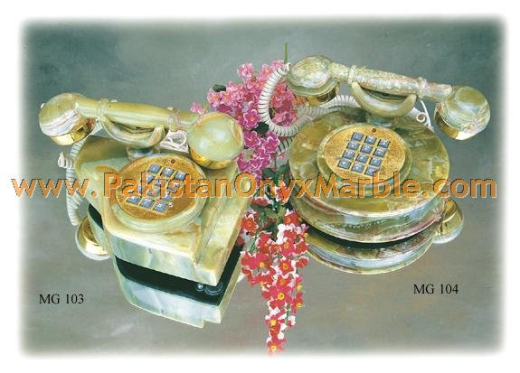 New and Unique design Onyx Telephone set wholesale price direct factory price