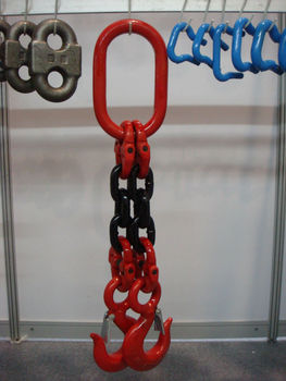 Weight lifting chain/load chain