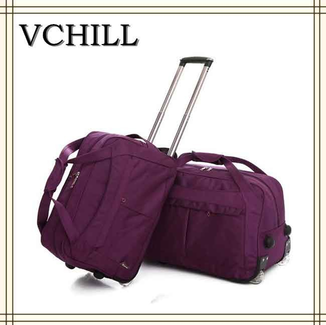 Trolley travel bag with laptop compartment with wheels VC-20388