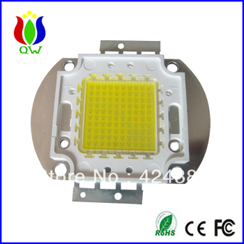Epistar chip 100w warm white high power led from shanghai