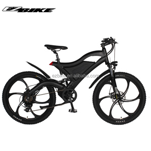 36v 250w 26'' fat tire strong frame electric mountain bike for sale