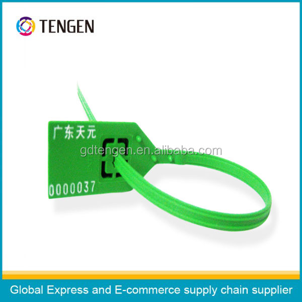 Logistic plastic seal type 7