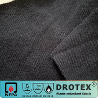 cotton fire retardant single jersey knitted fabric for FR Polo Shirt