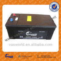N200MF 12V 200AH auto power Battery manufacturer JIS japan standard with lowest price