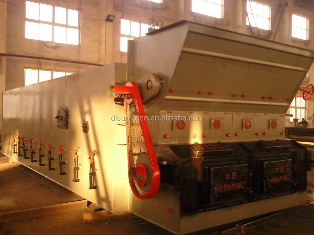 customized cast iron boiler travelling grate stoker with ash remover