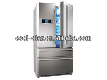 Refrigerator shell processing machine