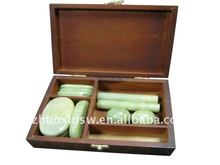 Natural Jade massage stone for beauty salon
