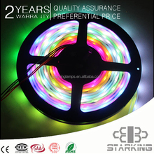 5050 flexible strip lights rgb smd led strip light, 12v/24v waterproof multicolor