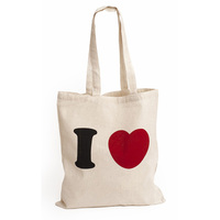 loving heart print plain biodegradable custom printed 100% natural cotton shopping carry tote drawstring bag ladies handbag