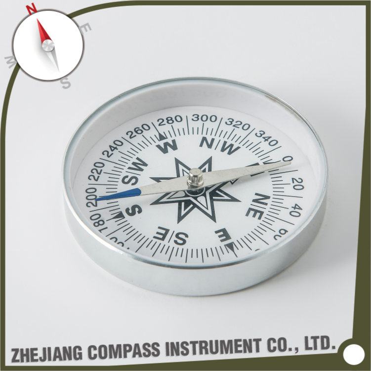 High quality aluminum teaching compass for kids