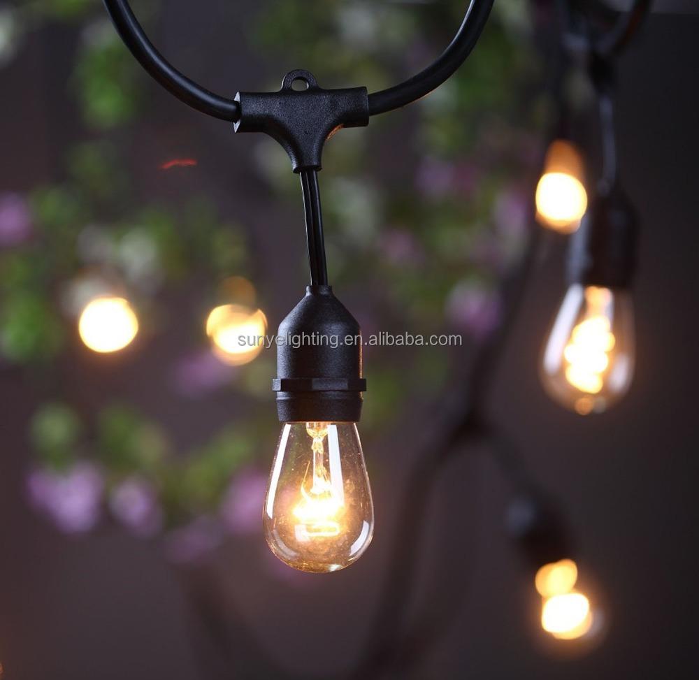 Exterior impermeable grado comercial luces con incluido for Luces exterior bombillas