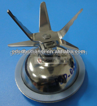 2015 New Stainless steel sextuple blenders sharp sawtooth blade assembly