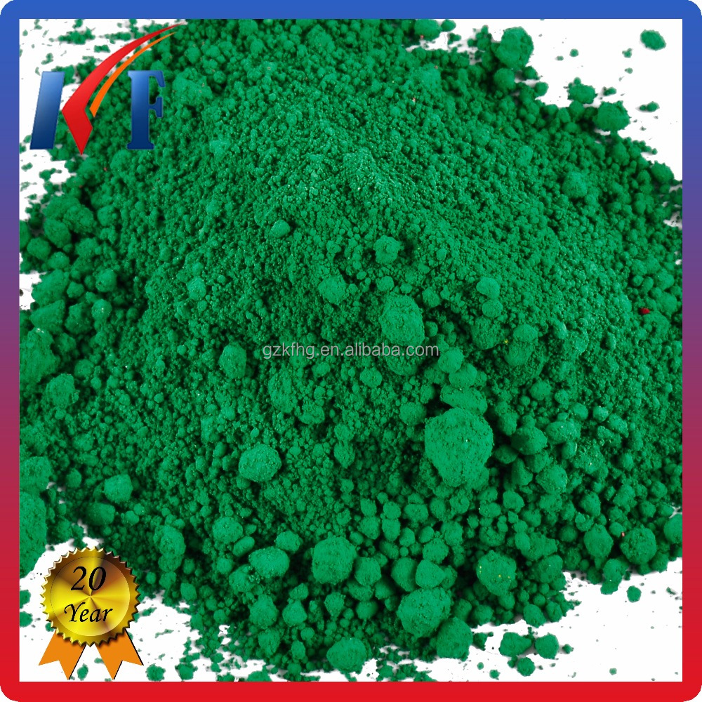 manufacture Inorganic Pigment Chrome Green for Porcelain