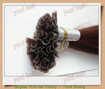 Factory Wholesale Hair Product Pre Glued Artificial Hair