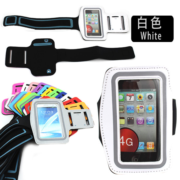 HOT SELL mountaineering running Sport velcro Armband Belt Strap Band Sleeve cover case for Iphone 4/4s