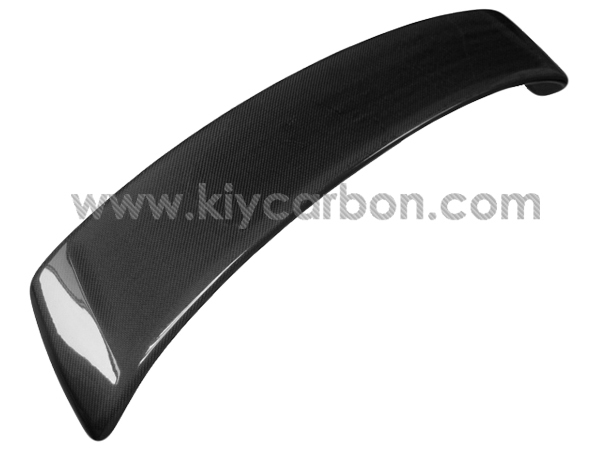 Real 3K Carbon Fibre Auto Parts Rear Spoiler For Porsche 997 Turbo